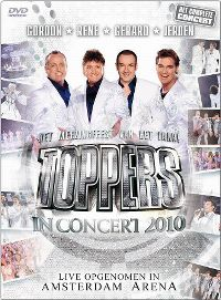 Cover Gordon - Rene - Gerard - Jeroen - Toppers In Concert 2010 [DVD]